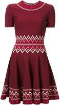 Alexander McQueen patterned A-line dress