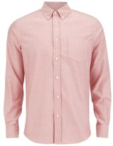 Tripl Stitched Oxford Long Sleeve Shirt Rose