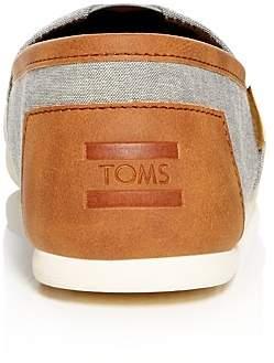 Toms Men's Alpargata Classic Chambray Slip-Ons