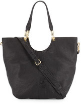 Elizabeth and James Convertible Large Shopper Bag, Black