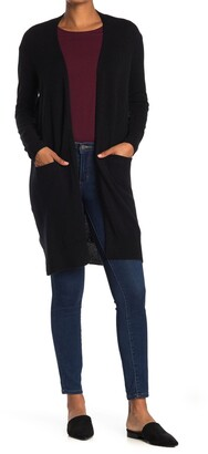 Amicale Cashmere Open Front Duster