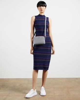Ted Baker Striped Sleeveless Midi Dress