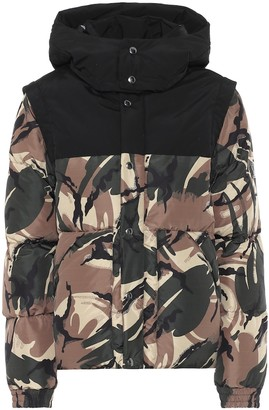 Woolrich Ramar Supreme camouflage down jacket