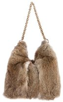 Tory Burch Fur Hobo w/ Tags