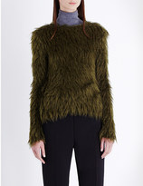 Jil Sander Hairy faux-fur jumper