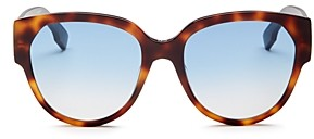 Christian Dior Women's Square Sunglasses, 55mm
