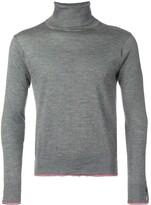 Thom Browne Classic Cashmere Turtleneck Pullover