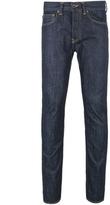 Edwin Ed-80 Dark Blue Rinsed Denim Jeans