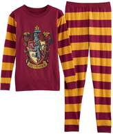 Girls 8-14 Harry Potter Gryffindor Top & Bottoms Pajama Set