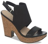 Naya Platform Sandals - Misty Two-Piece Cork High Heel