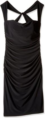 Laundry by Shelli Segal Women's X-Back Jersey Cocktail Dress
