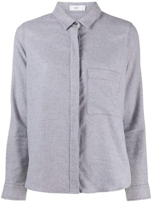 Closed Plain Fitted Shirt