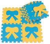 Kylin Express Colorful Waterproof Baby Foam Playmat Set-10pc, Bow