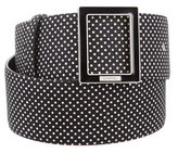 Chanel Polka Dot Waist Belt