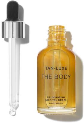 Tan-Luxe The Body Illuminating Tan Drops - light/medium (15ml)