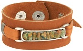 Leather Rock B867 Bracelet
