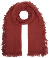 Denis Colomb Cashmere Tassled Scarf