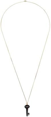 Kristin Hanson Diamond Detail Key Necklace