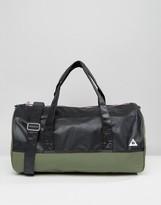 Le Coq Sportif Khaki Weekend Barrel Bag
