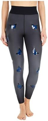 ULTRACOR Eden Butterfly Knockout Ultra High Leggings (Nero Blue) Women's Casual Pants