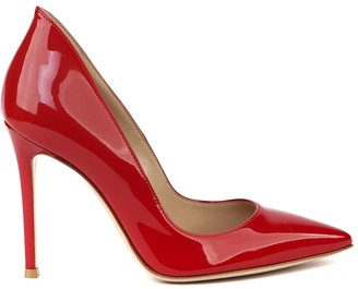 Gianvito Rossi Red Patent Leather Pumps