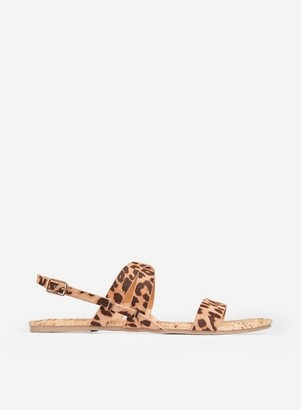 Dorothy Perkins Womens Wide Fit Multi Coloured Snake Print 'Fabia' Sandals