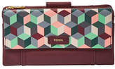 Fossil Ellis Printed Leather Clutch
