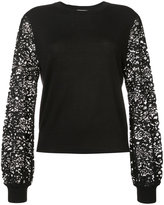 Zimmermann lace sleeved sweater