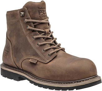 """Timberland Men's Millworks 6"""" Composite Safety Toe Waterproof Industrial Boot"""