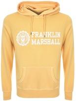 Franklin & Marshall Franklin Marshall Logo Hoodie Yellow