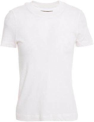 Enza Costa Slub Recycled Cotton-jersey T-shirt