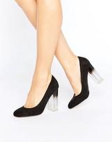 New Look Ombre Perspex Court Heel