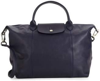 Longchamp Medium Le Pliage Leather Tote