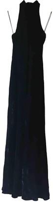 Ralph Lauren Blue Velvet Dresses