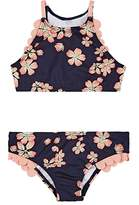 Submarine Kids' Cherry-Blossom-Print Two-Piece Swimsuit