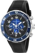 Philip Stein Teslar Men's 33-XBL-RB Active Extreme Stainless Steel Watch with Textured Band