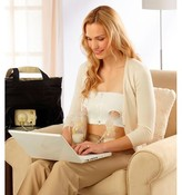 Easy Expression Medela Easy Expressions Hands Free White Bustier