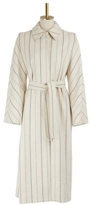 Vanessa Seward Striped Ginger coat