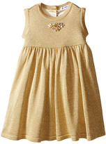 Dolce & Gabbana Lurex Sleeveless Dress (Infant)