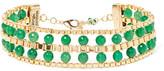 Rosantica Allodola Gold-tone Quartz Choker - Green