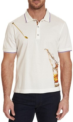 Robert Graham Skull On The Rocks Classic-Fit Graphic Polo