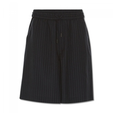 Off-White Pinstripe Shorts