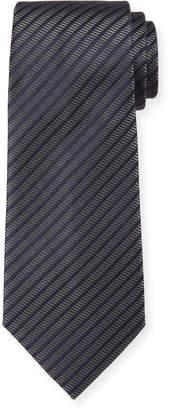Emporio Armani Men's Thin-Stripe Tie