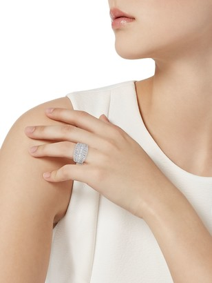 Effy 14K White Gold & Diamond Tiered Ring