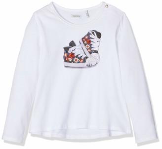 Ikks Junior Girl's Tee Shirt Ml Basket Fleurie T