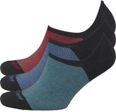 Duchamp Mens Three Pack Trainer Liners Black/Red/Twisted