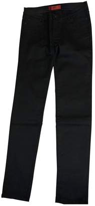 HUGO BOSS \N Black Cotton - elasthane Jeans for Women