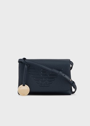 Emporio Armani Mini Shoulder Bag With Maxi Logo