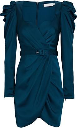 Jonathan Simkhai Jordyn Satin Crepe Mini Dress
