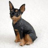 Mini A Ture Miniature Pinscher Miniature Dog Figurine